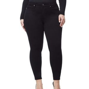 Good American NWT good legs black skinny jeans